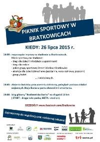 Piknik Sportowy w Bratkowicach