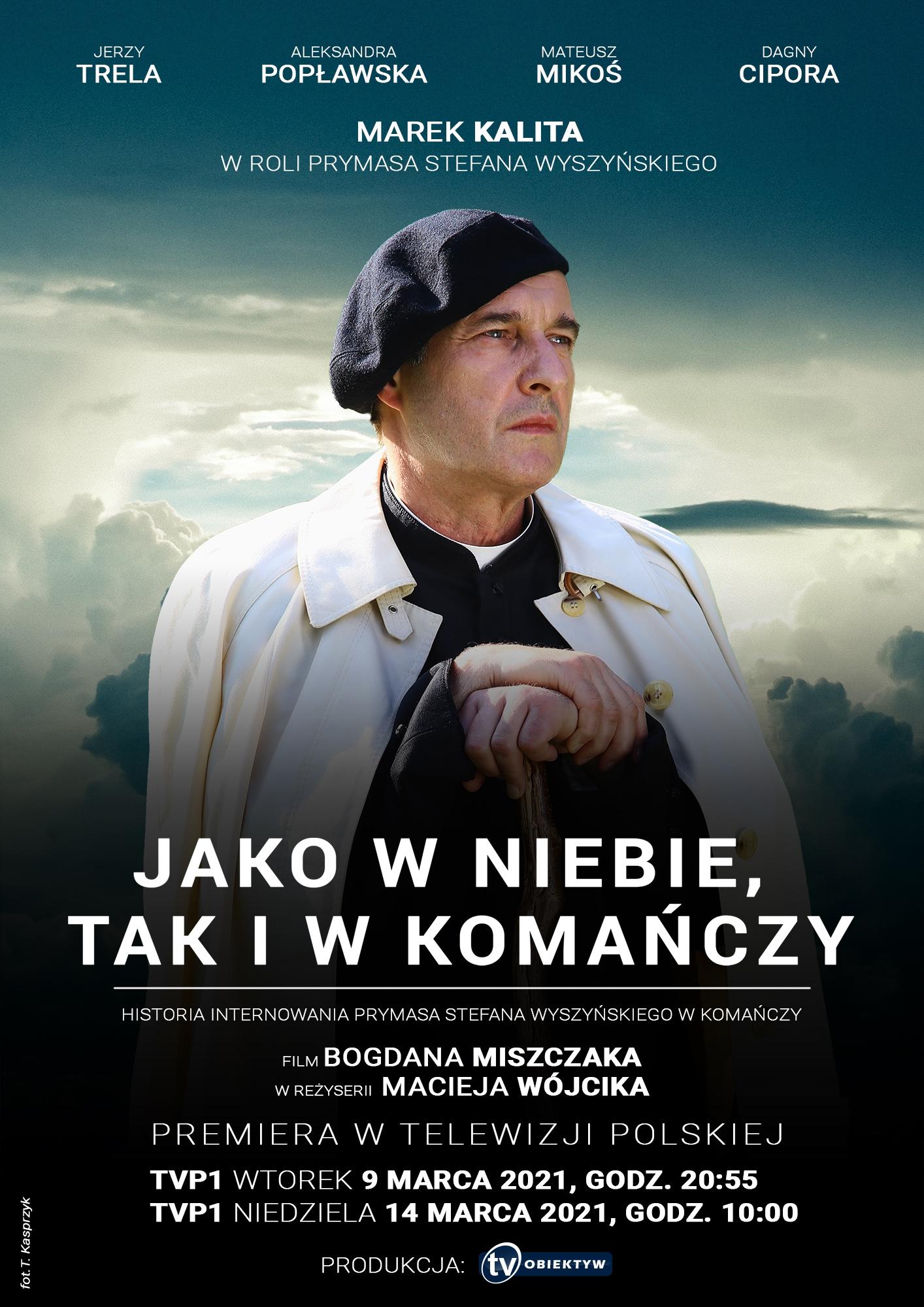 Telewizyjna premiera filmu powstałego przy współudziale samorządów, w tym Powiatu Rzeszowskiego
