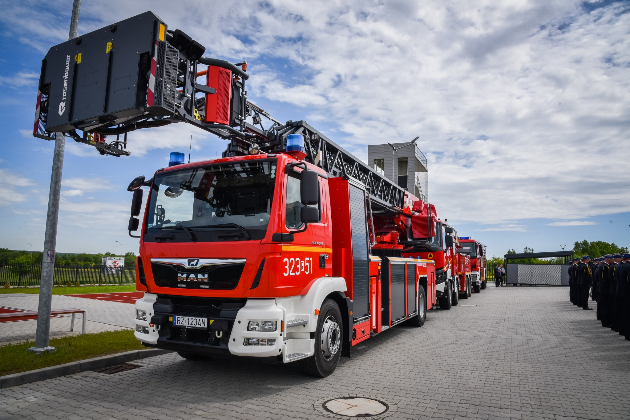 Na Dworzysku uroczyście otwarto nową jednostkę straży pożarnej