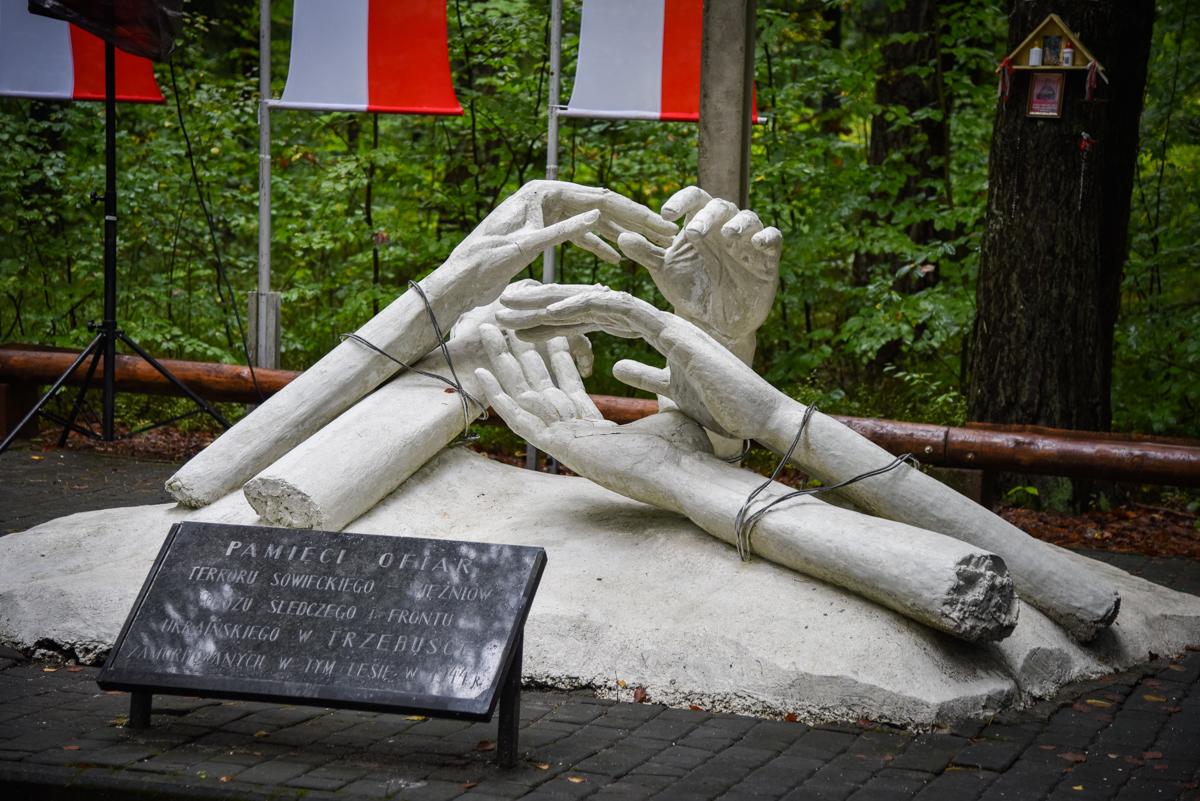Oddano hołd pomordowanym w turzańskim lesie w 1944 roku