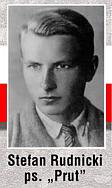 23.10.1943 - W niemieckiej zasadzce w Zalesiu pod Rzeszowem zginął żołnierz jednostki dywersyjnej AK Stefan Rudnicki. Pochodził z Chmielnika. Okrążony przez wroga mimo ran bronił się do ostatniego naboju, a widząc, że znajduje się w sytuacji beznadziejnej, wysadził się granatem.