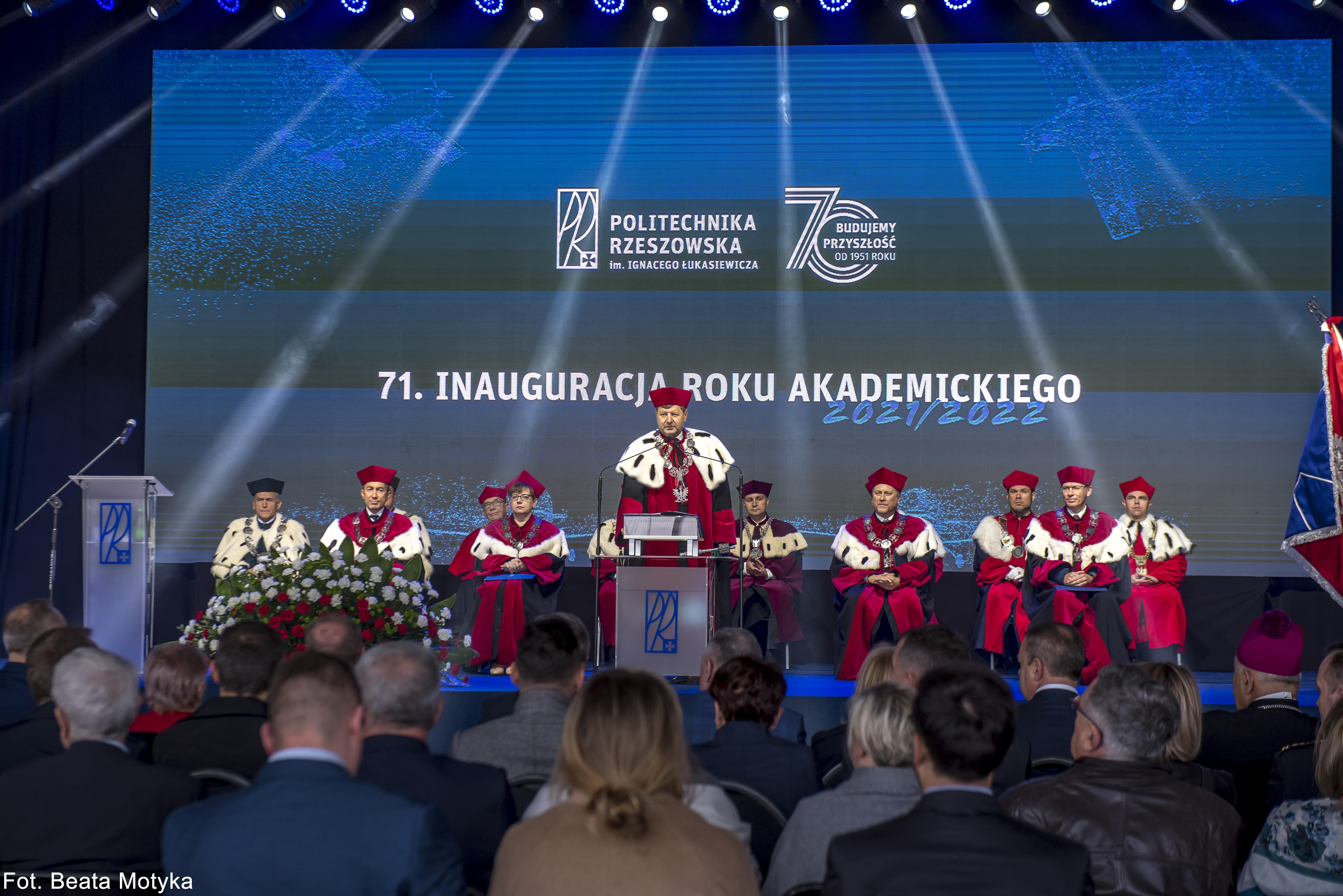 Uroczysta inauguracja 71. Roku Akademickiego Politechniki Rzeszowskiej