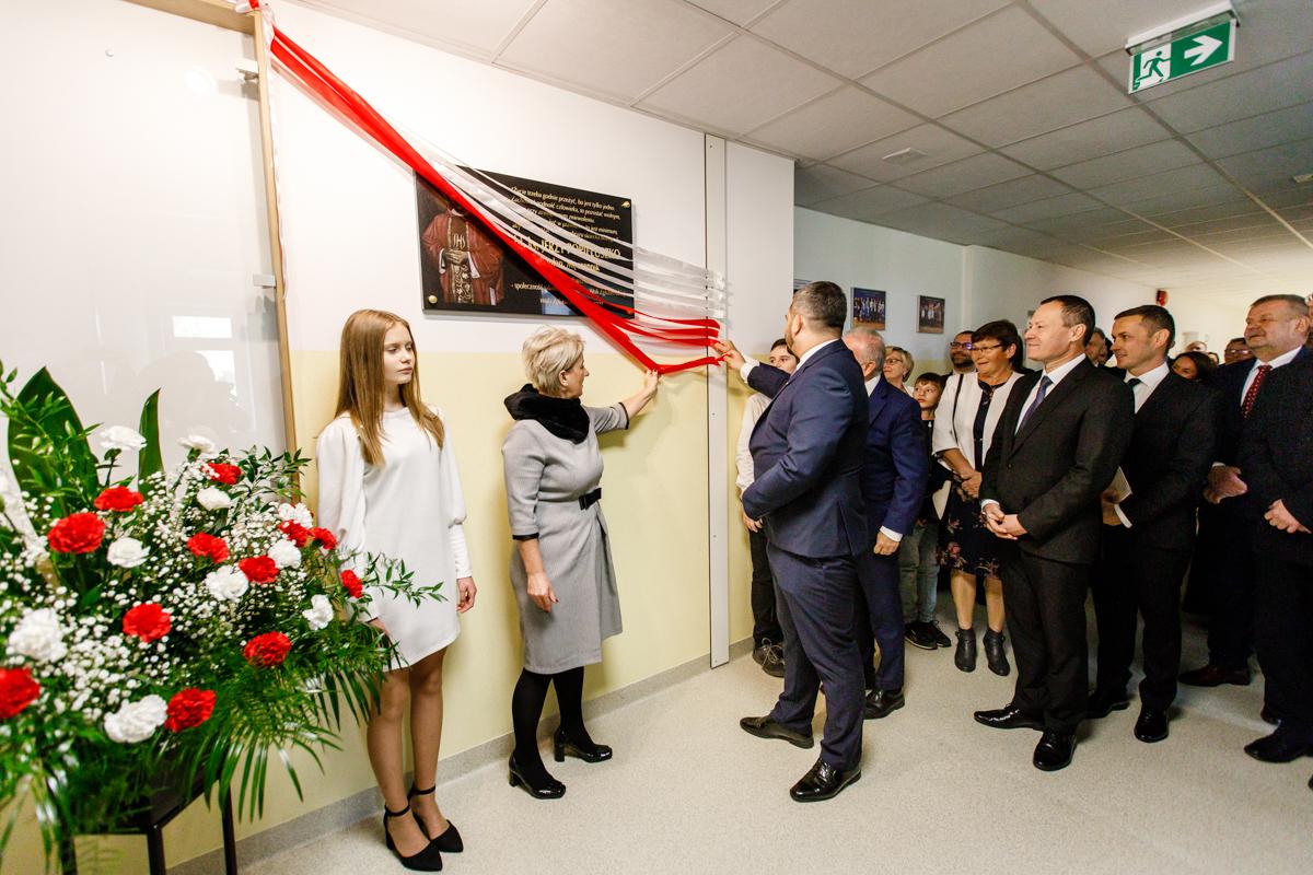 Szkoła Podstawowa w Woli Zgłobieńskiej otrzymała imię błogosławionego księdza Jerzego Popiełuszki