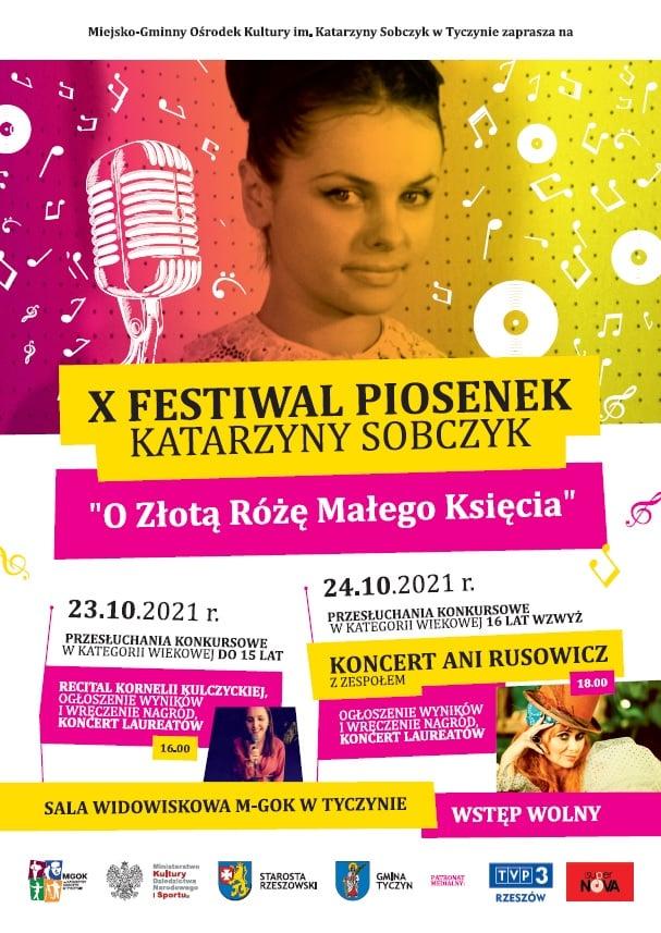 """X Festiwal Piosenek Kasi Sobczyk """"O Złotą Różę Małego Księcia"""""""